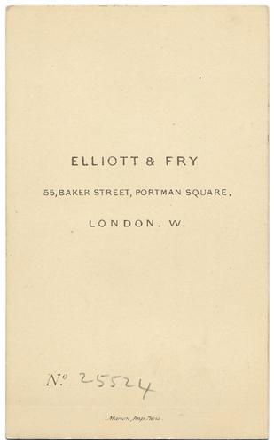 Taken By Elliott Fry 55 Baker Street London UK Arthur Stanislaus Austin Jackson